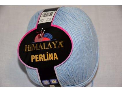 Příze Perlina 122 sv.modrá