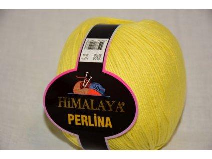 Příze Perlina 126 žlutá