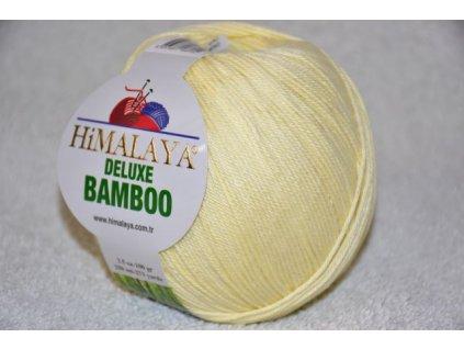 Příze De lux bamboo 03 vanilková