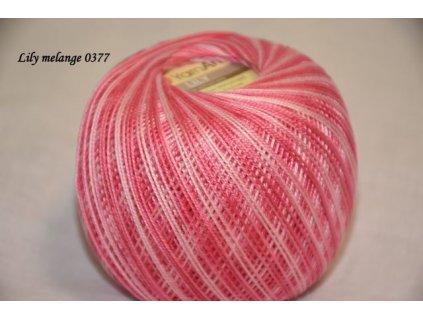 Lily melange 0377 růžová