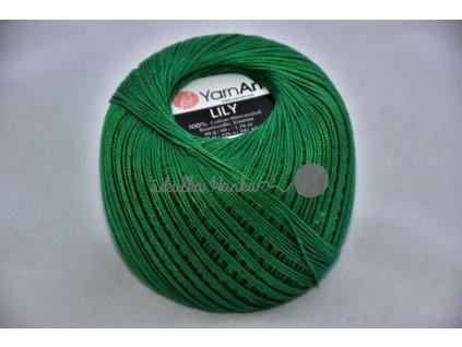 Příze Yarn Art Lily 5542 lesní zelená