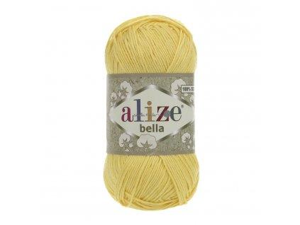 Příze Alize Bella 110 žlutá
