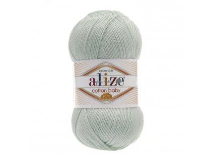 Cotton baby soft 514 mint
