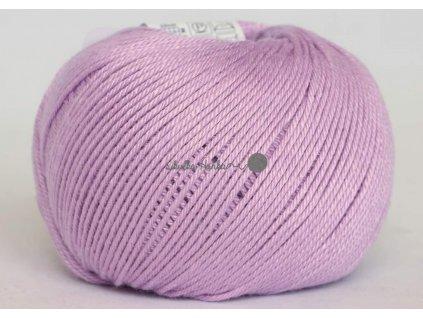 Příze Perla 8062 sv.fialová š. 1310