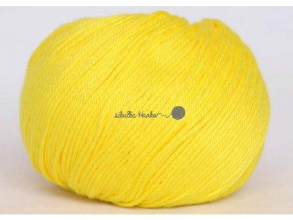 Příze Perla 8184 žlutá