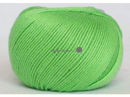 Příze Perla 8155 zelená