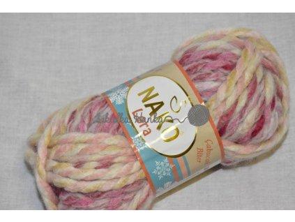Příze Lora 28106 fialovo-růžová
