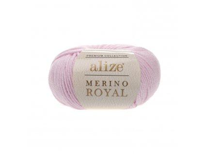 Merino royal 31 baby růžová