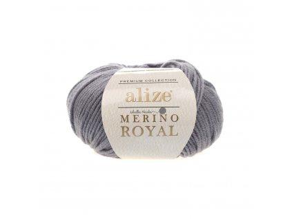 Merino royal 87 tm.šedá