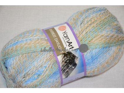 Everest daylight 6037 modro-hnědá