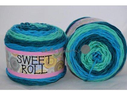 Sweet roll 12 tyrkysová