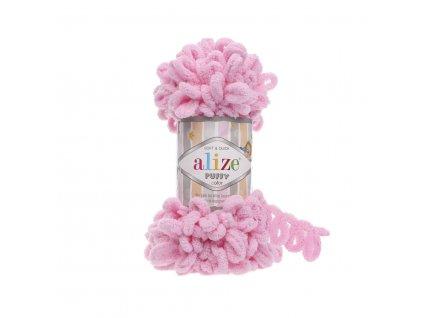 Puffy 185 růžová