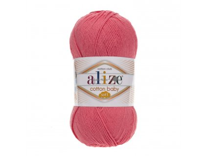 Cotton baby soft 33 růžová