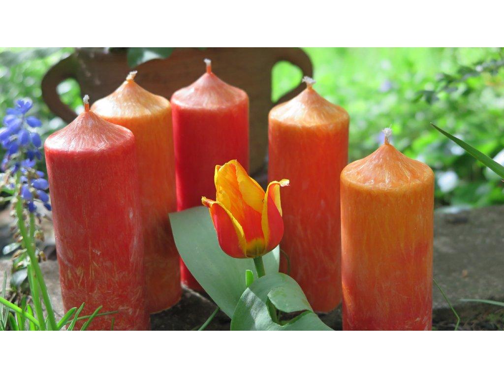 """Letní rituální svíce """"Živa"""""""