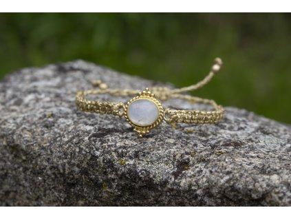 mesicni kamen naramek zlaty
