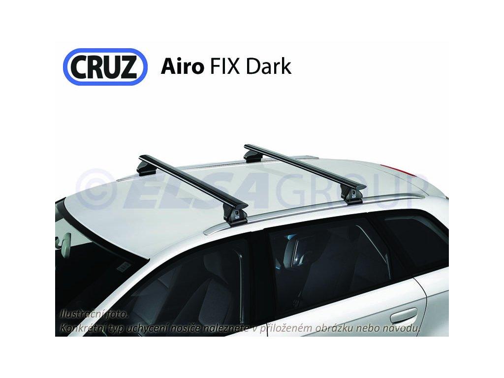 Střešní nosič BMW Serie 3 Touring 10-12 (integrované podélníky), CRUZ Airo FIX Dark