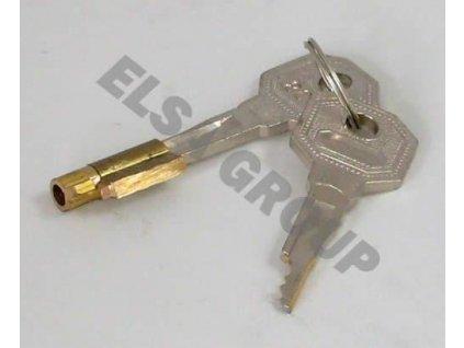Náhradní klíč (2ks) s bronzovou vložkou pro Brinkmatic Classic (BMC)