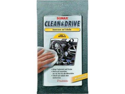 24604 sonax clean drive uterka na interier