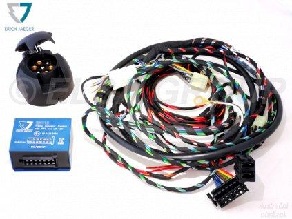 Elektropřípojka Fiat Sedici / Suzuki SX4 Classic 7pin