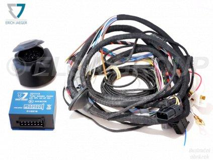 Elektropřípojka Citroen Jumper/Fiat Ducato/Peugeot Boxer valník 13pin