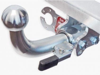 Tažné zařízení Mercedes Benz Sprinter II skříň 3,0t / 3,5t (3,8t) (SWB) 2006-, odnímatelný bajonet, Galia