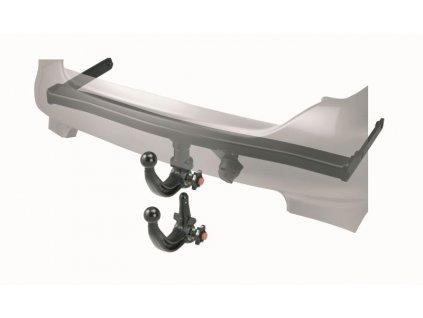 Tažné zařízení Mini Clubman 2007-2010 (R55) , odnímatelný vertikal, Westfalia