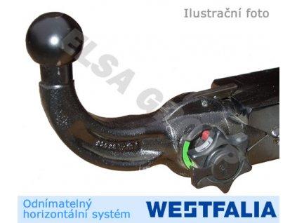 Tažné zařízení Ford Transit/Tourneo Custom 2012- , odnímatelný horizontal, Westfalia