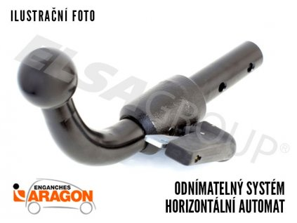 Tažné zařízení Mercedes Benz CLS Shooting Brake 2013- , bajonet, Aragon