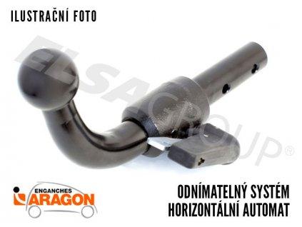 Tažné zařízení Volkswagen Passat Alltrack 2012-2014/11 (B7), bajonet, Aragon