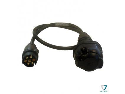 Adapter 7->13pin, kabelový, 1m, Erich Jaeger