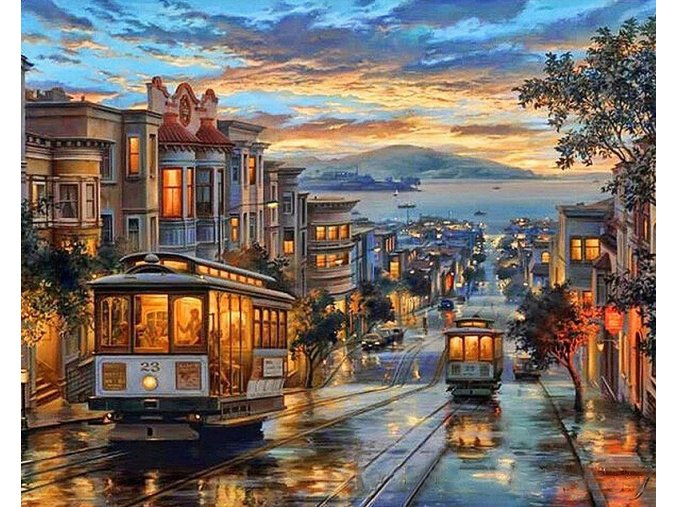 Podvečerní San Francisco