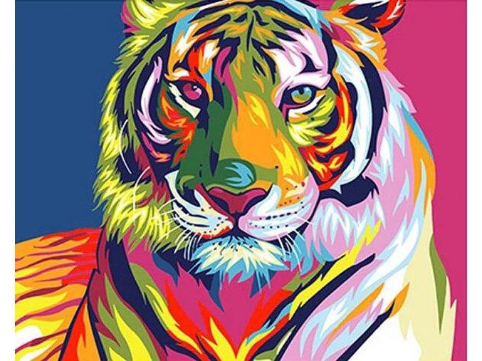 Abstraktní tygr