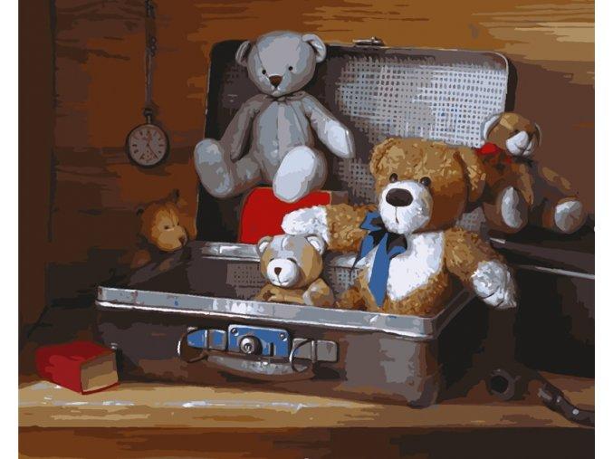 Medvídci v kufříku