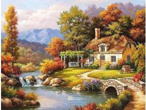 Domek u řeky