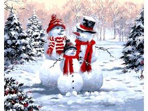 Sněhová rodinka