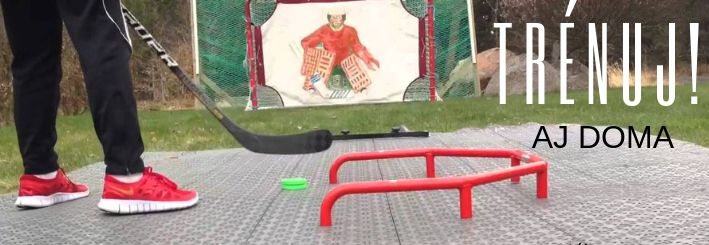 jarný hokejový tréning