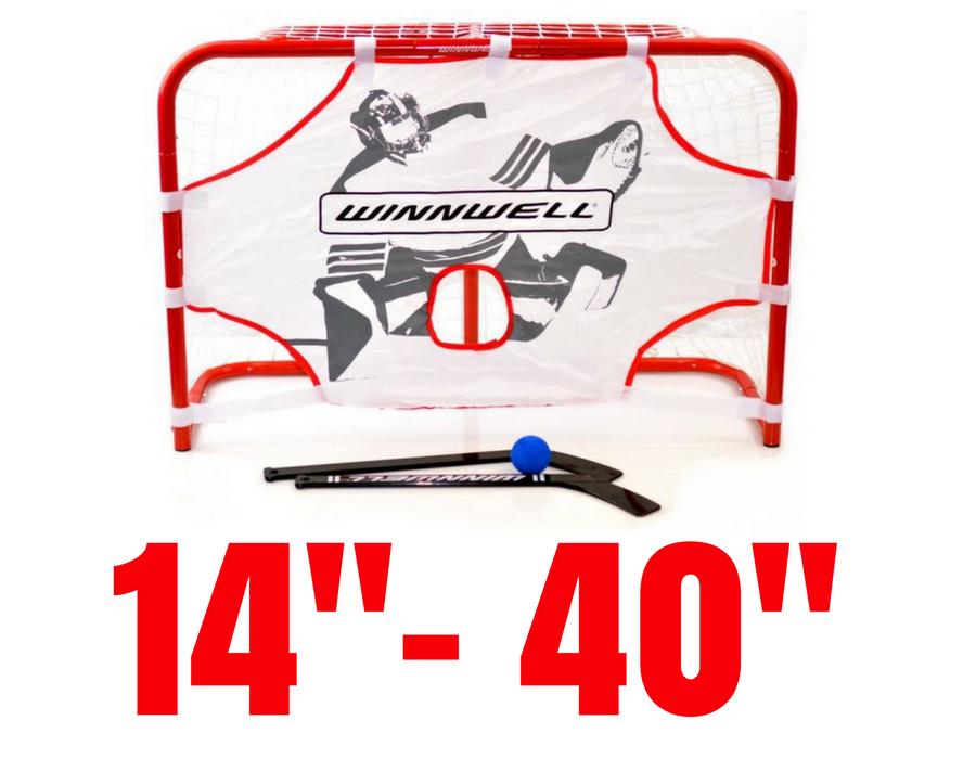 """Tréningové hokejové brány malé, veľkosť 14""""- 40"""""""
