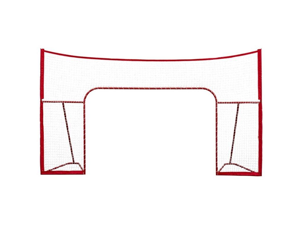 """Postranná sieť winnwell 72"""" s pevnou kovovou konštrukciou, voľne stojacou-Heavy Duty, Hokejá brána, hokejový puk, hokejový tréning, hokej, hokejový hráč"""