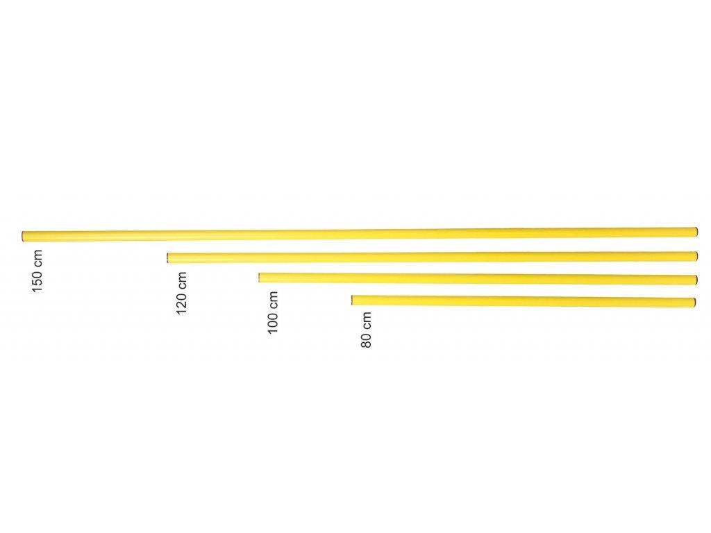 Tyčka do kopule s dĺžkou od 80 cm do 150 cm