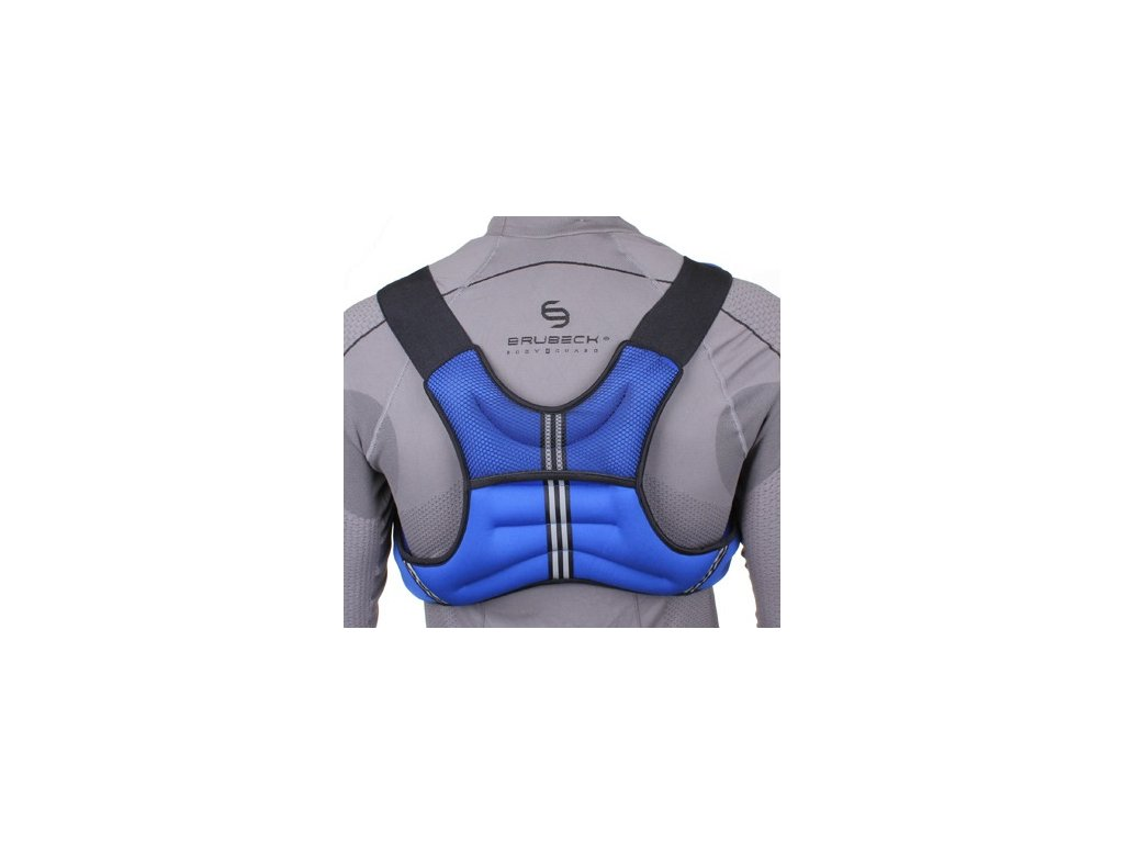 Záťažová vesta modrá 5 kg 1