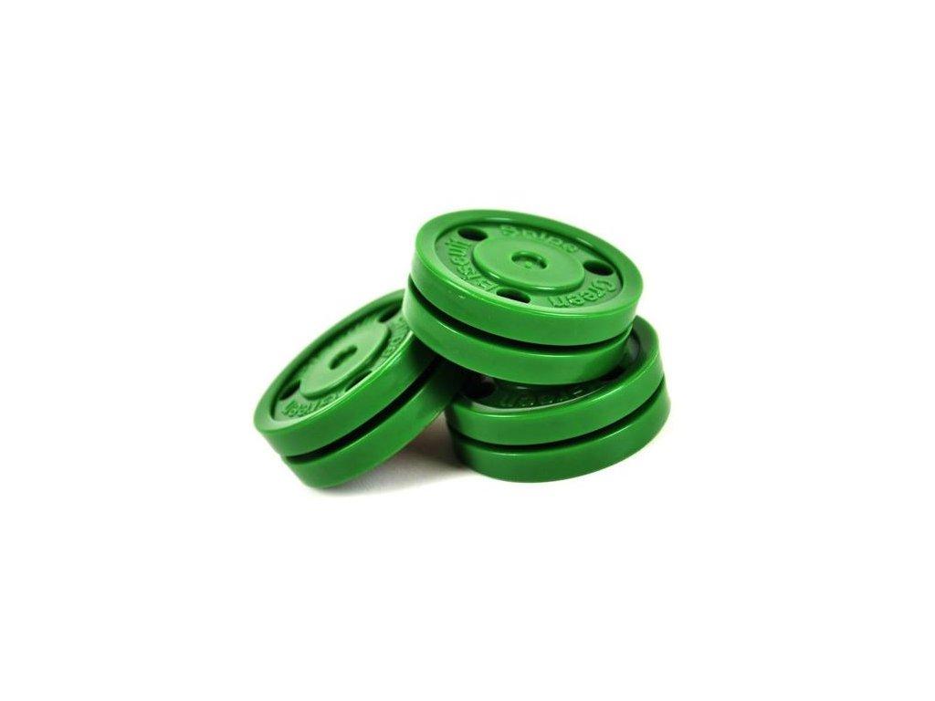 Stickhandling puk – Green Biscuit Snipe