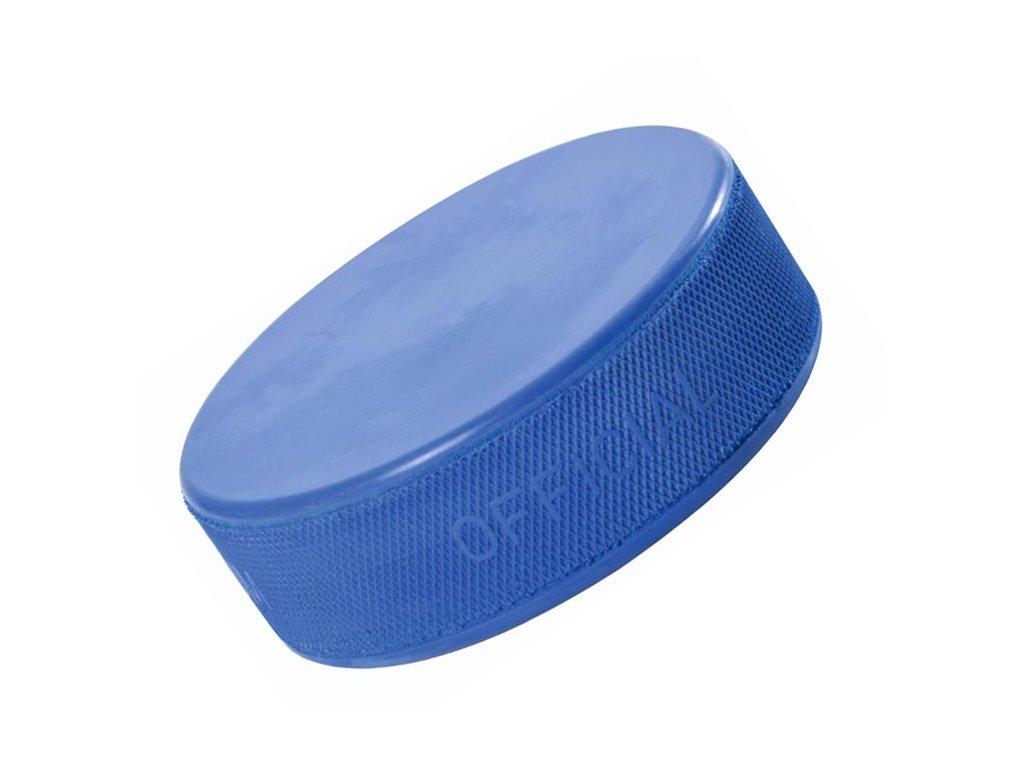 Hokejový puk 1.trieda odľahčený modrý