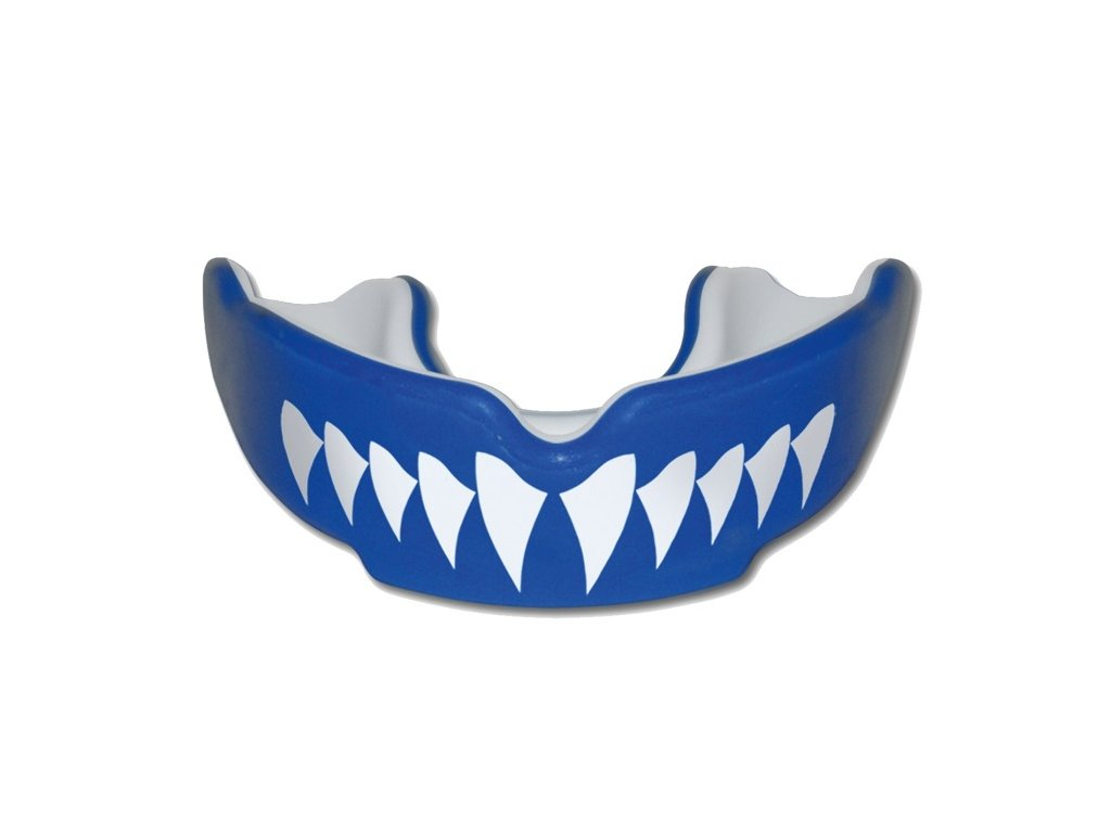 Chránič zubov SAFEJAWZ SHARK modrý 1
