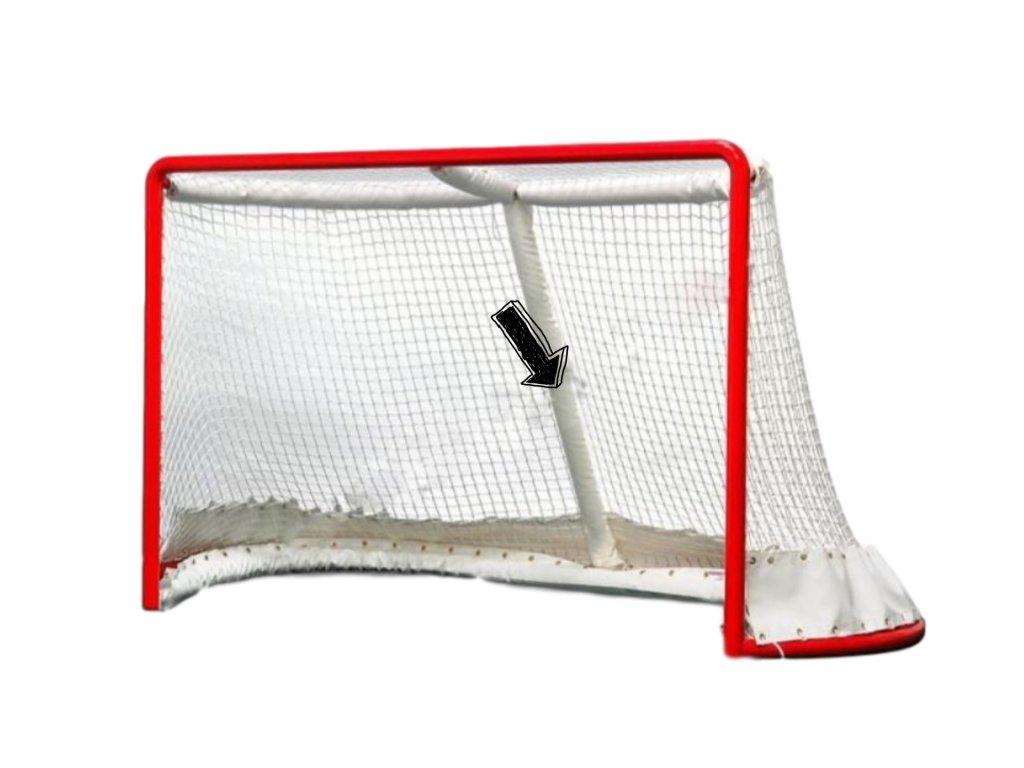Chránič zadnej zvislej podpery hokejovej brány