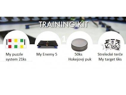 1.training kit, my puzzle system, 1.training kit, tréningový kit pre hokejistu, trening pre hokejistu, tréningový kit, hokej, ladovy hokej, hokejova plocha, hokejovy puk, hokejovy plachta