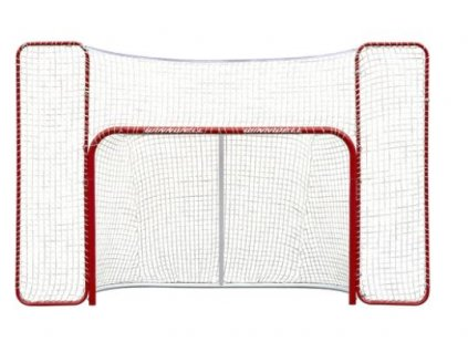 "brana s postrannou sietou winnwell, brana 72"" s postrannou sietou, brana 72%, brana na hokej, hokejovy trening, hokej"