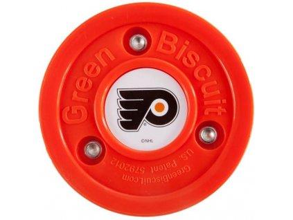 Stickhandling puk – Green Biscuit Original Philadelphia Flyers