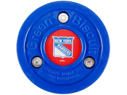 Stickhandling puk – Green Biscuit Original New York Rangers