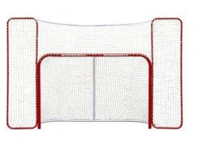 "Hokejová bránka 72"" s postrannou sieťou Winnwell Quik Net"