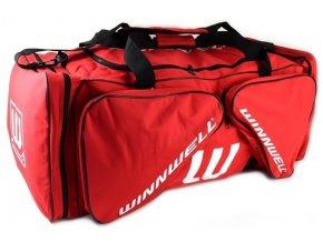 Hokejová taška WINNWELL Carry Bag veľkosť senior 40 červená 1